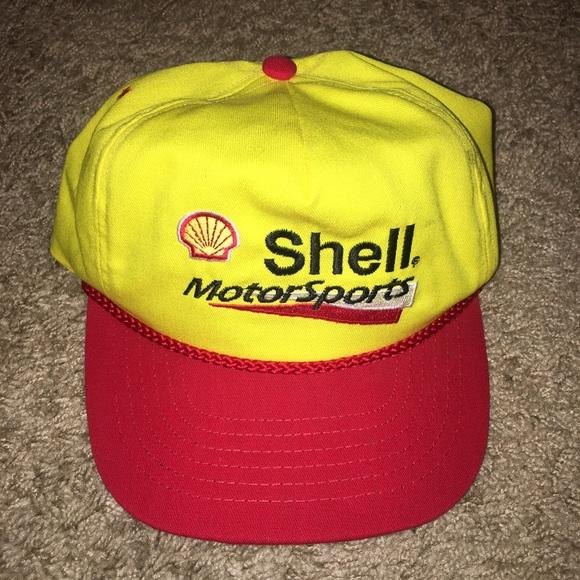 fb567964271 corportate motorsports Other - Vintage shell Motorsport SnapBack hat